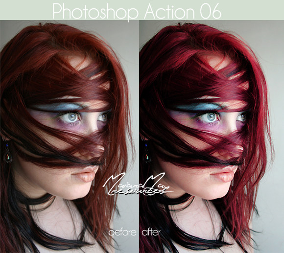 Photoshop Action 6 by IGotTheLook