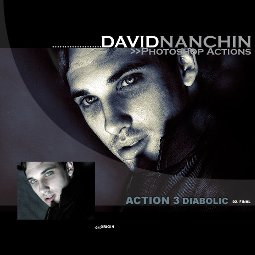 Photoshop Action Diabolic by davidnanchin