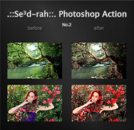 Sedrah Photoshop Action No2