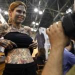 Julia Gnuse - Most Tattooed Woman [pic 5]