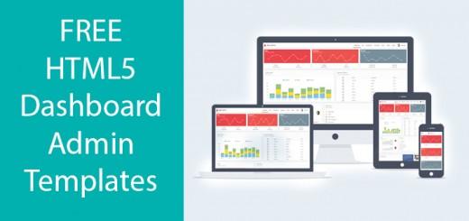 Free-HTML5-Dashboard-admin-templates