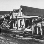Valdivia after earthquake, 1960