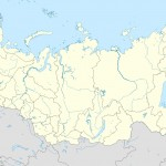 Russia edcp location map