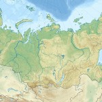 Russia edcp relief location map