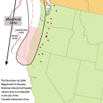 Cascadia subduction zone.