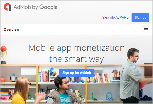 admob acquired by Google